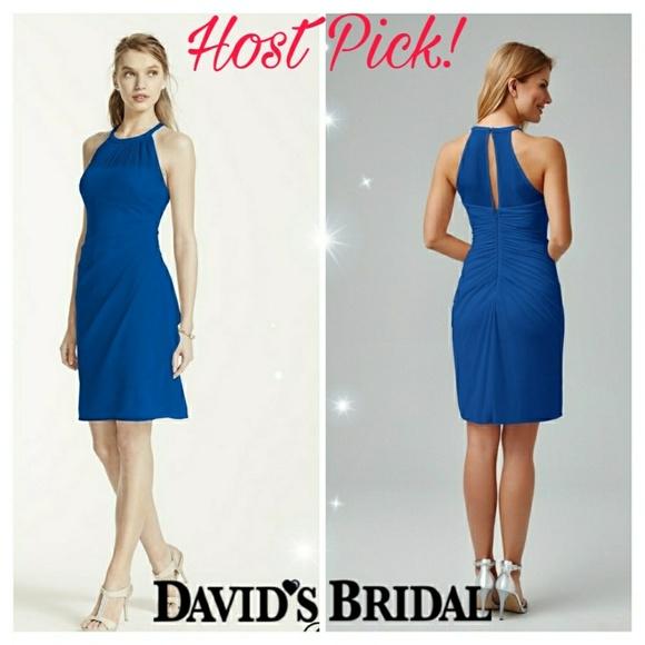 David's Bridal Dresses & Skirts - HP Gorgeous davids bridal bridesmaid dress size 6